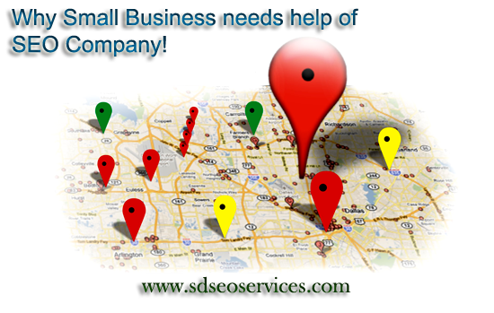 Small Why Business needs help of SEO Company